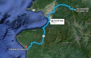 San Sebastian to El Cielito