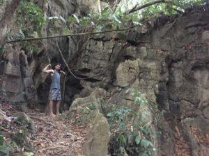 Jungle cave