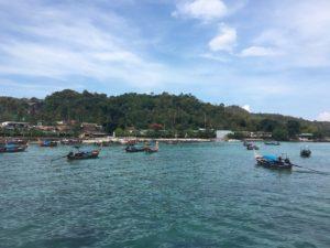 Leaving Phi Phi