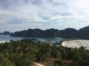 Phi Phi island from the top