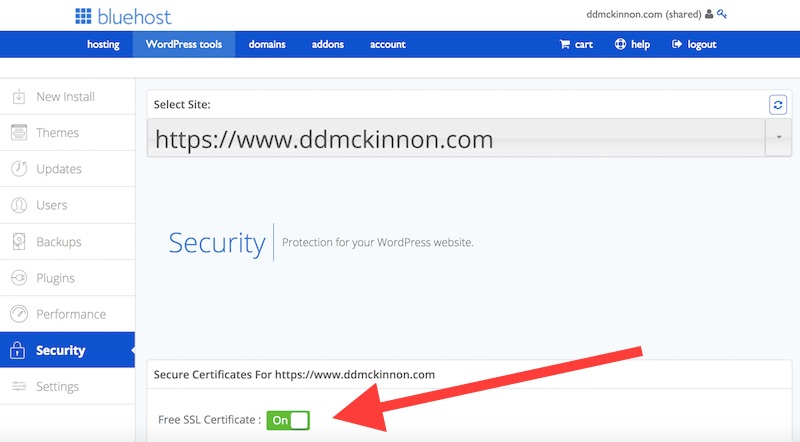 bringing ddmckinnon.com into the 21st century with ssl and s ...